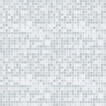 Modèle sans couture abstrait pixelisé en niveaux de gris