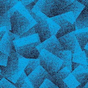 Modèle sans couture abstraite de texture pointillée bleu pour le textile