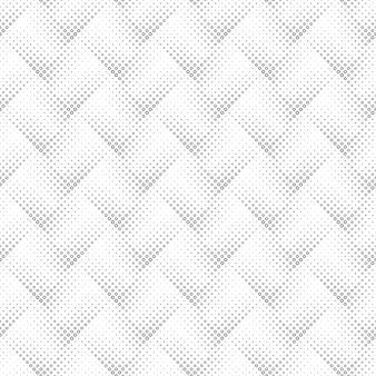 Modèle sans couture anneau géométrique noir et blanc