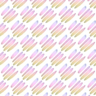 Modèle sans couture aquarelle abstraite de lignes pastel