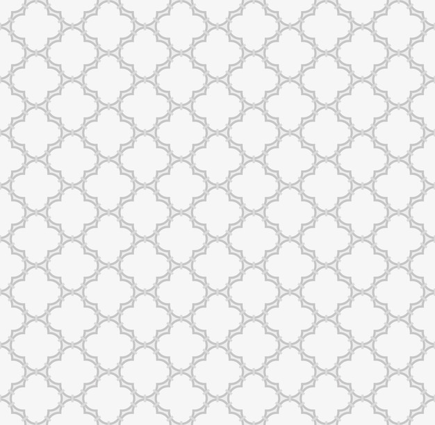 Modèle sans couture arabe fond musulman conception de grille de fenêtre islamique de tuiles de formes de lanterne
