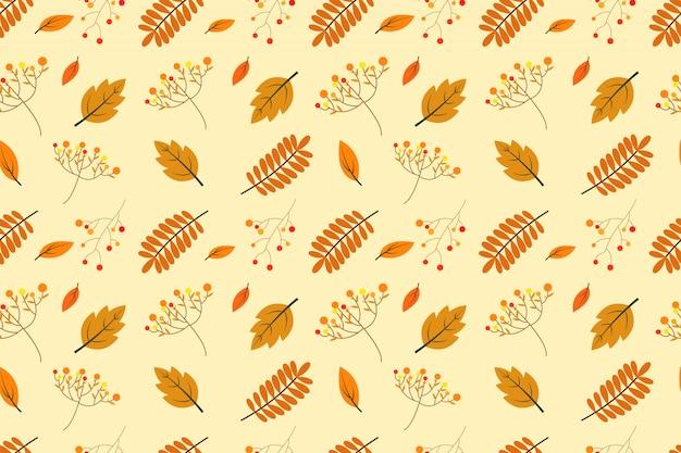 Modèle sans couture automne