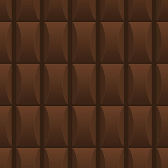 Modèle sans couture à base de délicieux chocolat au lait. image sans fin. style de bande dessinée. illustration vectorielle.