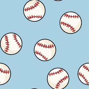 Modèle sans couture de baseball