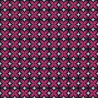 Modèle sans couture de batik