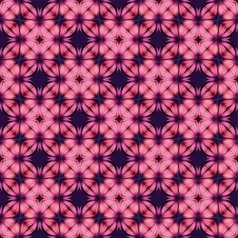 Modèle sans couture de belles fleurs
