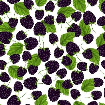 Modèle sans couture de blackberry