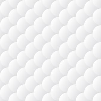 Modèle sans couture blanc squamous abstract vector. fond vectorielle continue