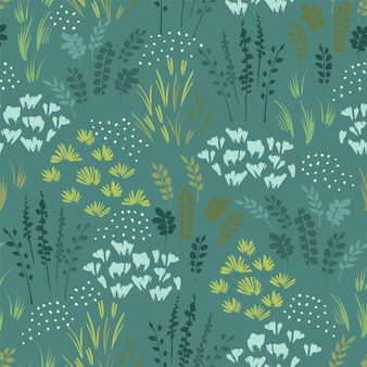Modèle sans couture botanique. conception pour papier, couverture, tissu, décoration intérieure