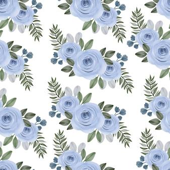 Modèle sans couture de bouquet de roses