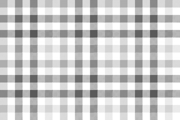 Modèle sans couture carreaux gris