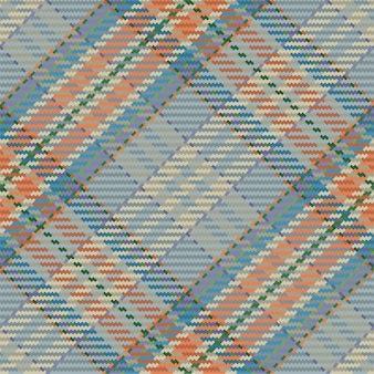 Modèle sans couture à carreaux tartan