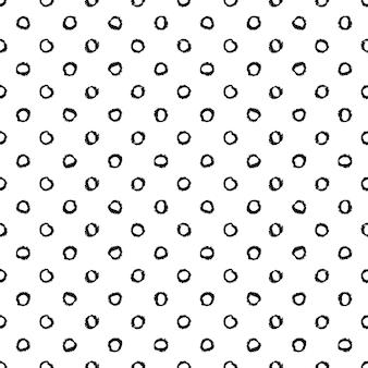 Modèle sans couture avec des cercles illustration vectorielle