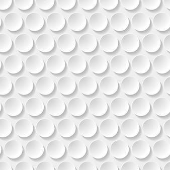 Modèle sans couture de cercles