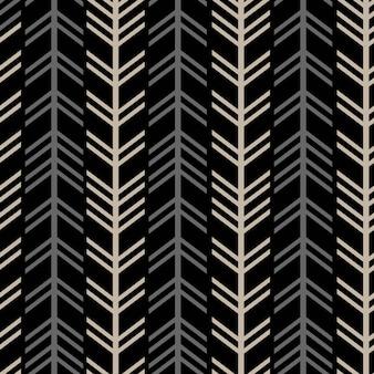 Modèle sans couture chevron chevrons