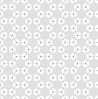 Modèle sans couture de chimie