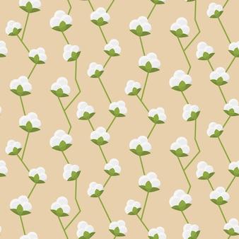 Modèle sans couture de coton