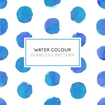 Modèle sans couture de couleur de l'eau de couleur bleu foncé