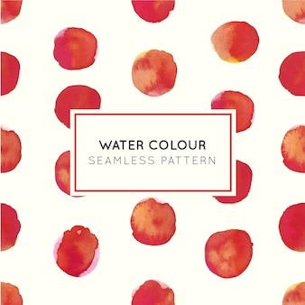 Modèle sans couture de couleur rouge à l'eau