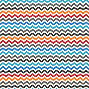 Modèle sans couture de couleur zigzag