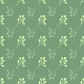 Modèle sans couture dans des tons roses avec des feuilles d'eucalyptus.