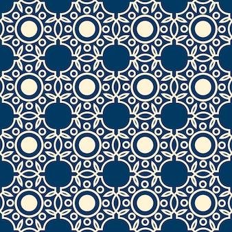 Modèle sans couture de dentelle abstraite