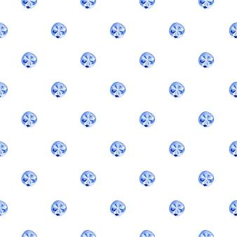 Modèle sans couture de diamant abstrait