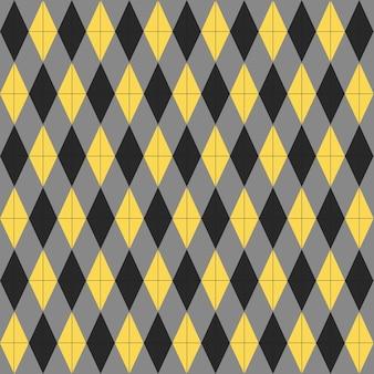 Modèle sans couture de différentes lignes et zigzags