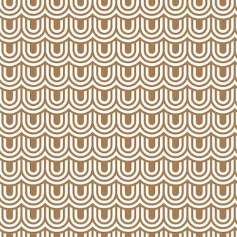 Modèle sans couture écaillé rayé beige