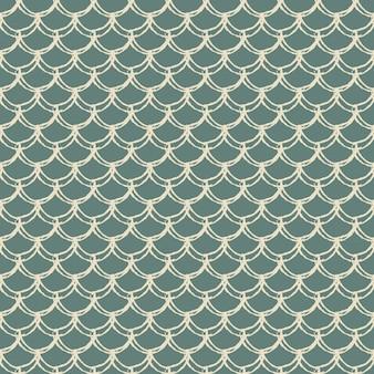 Modèle sans couture d'échelle de poisson. texture de peau de reptile, de dragon. arrière-plan lavable pour votre tissu, design textile, papier d'emballage, maillot de bain ou papier peint. queue de sirène bleue avec écailles de poisson sous l'eau.