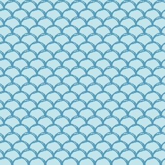 Modèle sans couture d'échelle de poisson.