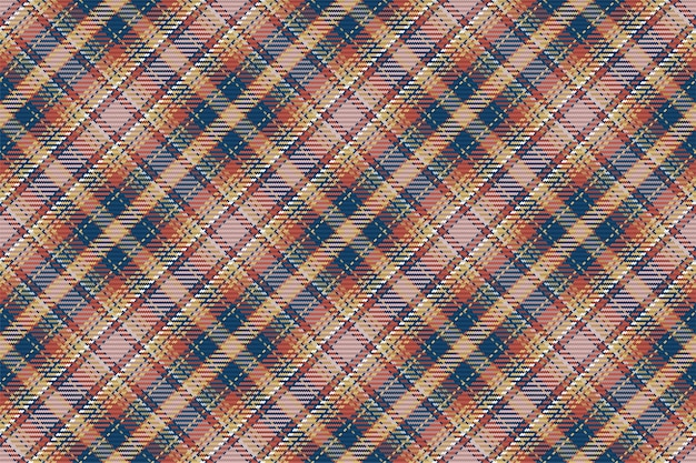 Modèle sans couture écossais à carreaux tartan