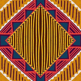 Modèle sans couture élégant batik bleu. texture de vecteur américain shibori bleu. imprimé rhombus boho. fond aquarelle de vecteur ouzbek batik. shibori.