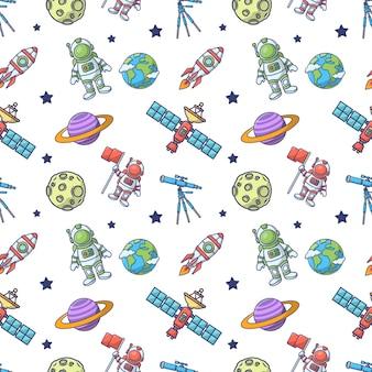 Modèle sans couture de l'espace