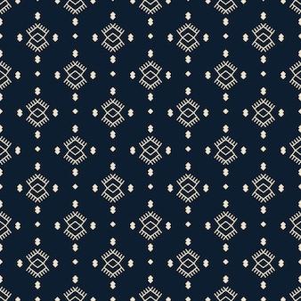 Modèle sans couture ethnique art tribal