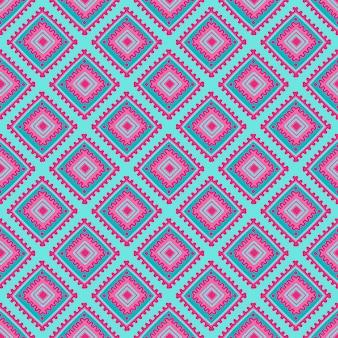 Modèle sans couture ethnique. ligne tribale imprimée en style africain, mexicain et indien