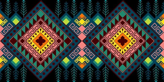 Modèle sans couture ethnique