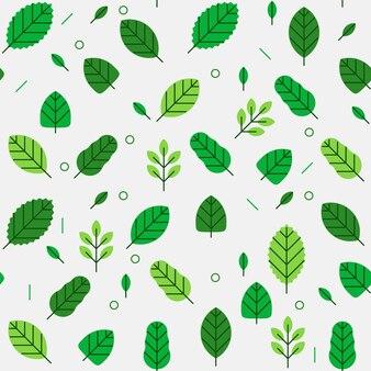 Modèle sans couture de feuilles