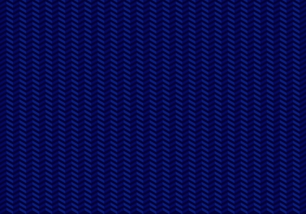 Modèle sans couture de flèches zig zag sur fond bleu.