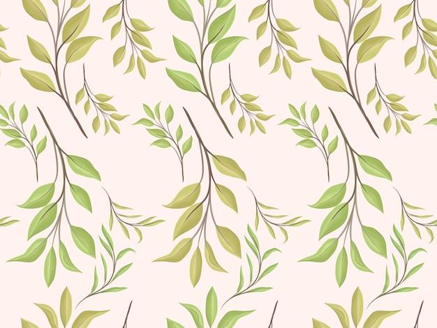 Modèle sans couture de fleurs aquarelles