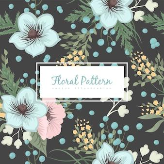 Modèle sans couture floral de fond