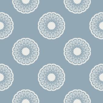 Modèle sans couture floral vintage. vecteur. texture transparente avec des fleurs. motif floral sans fin.