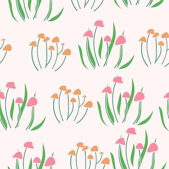 Modèle sans couture de fond floral surface