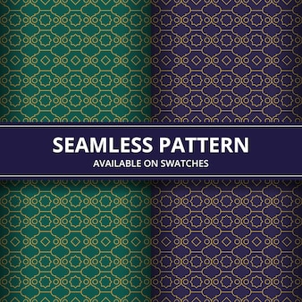 Modèle sans couture. forme géométrique en style batik. fond d'écran. motif élégant traditionnel.