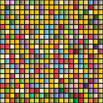 Modèle sans couture géométrique abstrait des blocs de couleur