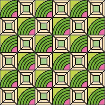 Modèle sans couture géométrique abstraite de style de ligne moderne.