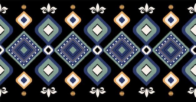 Modèle sans couture géométrique africain