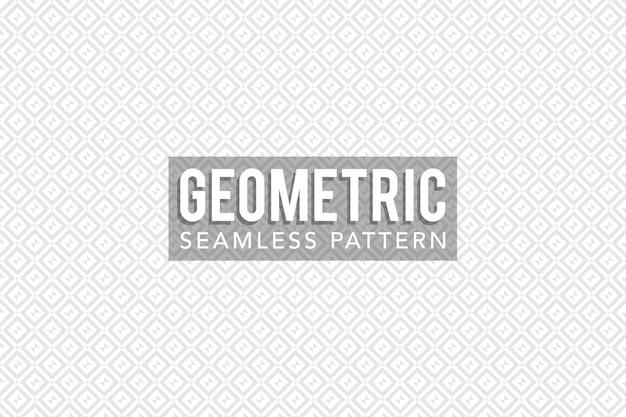 Modèle sans couture géométrique carré