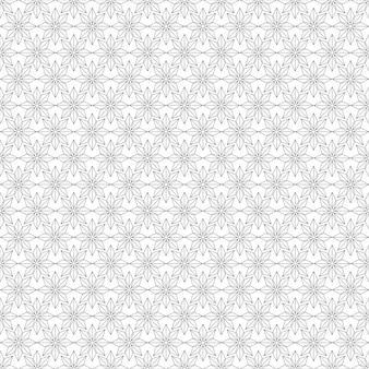 Modèle sans couture géométrique. fond noir et blanc.