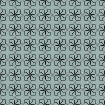Modèle sans couture géométrique gris